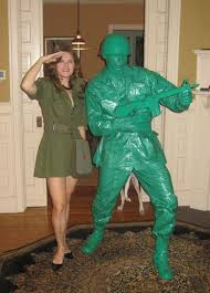 Army Halloween Costumes Plastic Green Army Man Halloween Costume