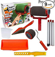 what type of paint roller to use on kitchen cabinets 9pcs no seam paint roller pro brush set paint runner paint