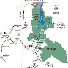 grand map lodging grand teton national park lodging and accommodations