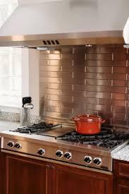 best stainless backsplash ideas pinterest steel stainless steel kitchen backsplashes