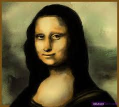 how to draw mona lisa step by step sketch drawing technique