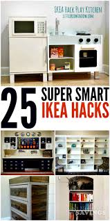 Ikea Play Kitchen Hack by 25 Ikea Hacks That Are Just Smart