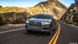 Audi Q7 2017 - 2017 audi q7 3 0t quattro us spec front hd wallpaper 5