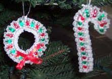 114 best beaded ornaments images on