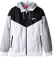 nike mens windrunner hooded track jacket at men s clothing