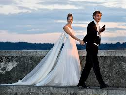 religious wedding casiraghi and beatrice borromeo s religious wedding in italy