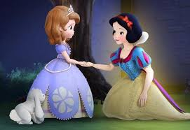 exclusive video snow white visits sofia today u0027s