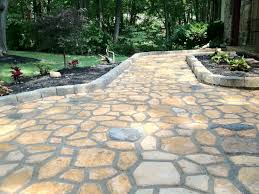 cement flagstone patio inspirational home decorating cool in