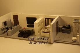 lego modern apartment moc youtube