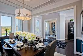 pictures of model homes interiors model home interiors trim in ceiling shelves in living room