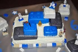 wars birthday cake coolest lego wars birthday cake