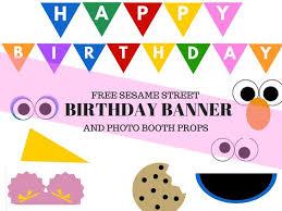 jackson u0027s sesame street birthday party stampabili gratis