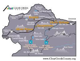 Map Of Denver Colorado Maps Clear Creek County Colorado