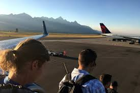 Wyoming travel flights images Jackson hole airport jackson hole traveler jpg