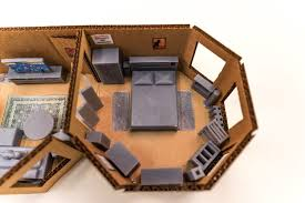Carrie Bradshaw Apartment Floor Plan by Engineer Plans His Apartment Floor Layout By 3d Printing A Scale Model