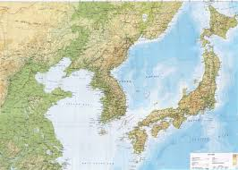 Korea On Map South Korea Map Geography Of South Korea Map Of South Korea Map