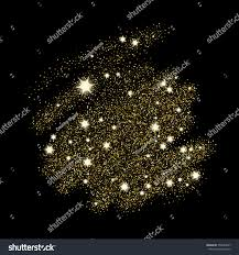 magical sequin glowing space explosion star stock vector 554985877