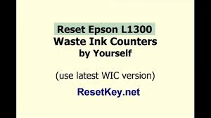 tx100 resetter free download reset epson l1300 waste ink counters with wic reset utility youtube