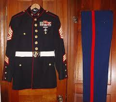 usmc gunnery sergeant dress blue uniform usmc dress blues and