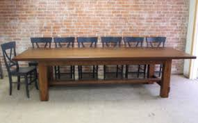 reclaimed wood farmhouse table traditional farmhouse tables lake and mountain home