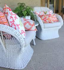 bungalow living outdoor cushions diy decorator