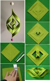 estrela de papel em 3d paper origami and