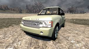 neon orange range rover range rover supercharged 2008 beige for beamng drive