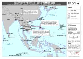 pacific region map pacific region disasters and other events being