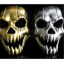new cosplay creepy skeleton skull mask masquerade halloween