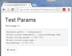javaee angularjs bootstrap routes templates redirection and