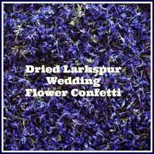 Purple Wedding Decorations Confetti 9 Cups Dried Flowers Purple Flowers Wedding