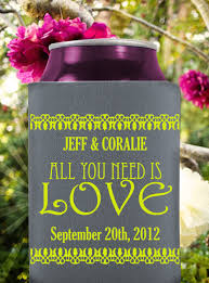 popular wedding sayings wedding koozie wedding cozziez create your wedding party
