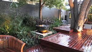 Split Level Garden Ideas Decking Designs For Small Gardens Split Level Deck