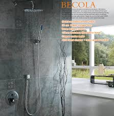 Brand Design Luxury 8 10 12 16 Inch Round Stainless Steel Bathroom Best Place To Buy Bathroom Fixtures
