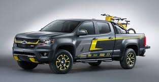 2014 las vegas truck show ricky carmichael chevy performance sema concept truck motocross