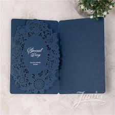 Pocket Fold Invitations Chic Pocket Fold Laser Cut Wedding Invitations Wpl0103 Wpl0103