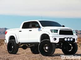 toyota tundra lifted 2008 toyota tundra fever pitch lifted trucks truckin magazine