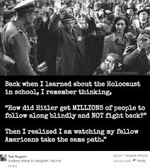Holocaust Memes - ted nugent holocaust victims were soulless sheep to the slaughter