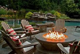 Patio Firepit Looking Patio Furniture Sets With Pit Outdoor Table Gas