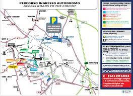 Map Formula Formula 1 Heineken Gran Prix Of Italy 2016 Monza And Brianza