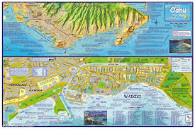 map of waikiki oahu dive map the gathering place franko s fabulous maps of