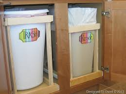 Under Cabinet Pull Out Trash Can Ometcura29 U0027s Soup