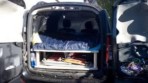 renault logan trunk dacia logan mcv aménagée mini camping car camper van youtube
