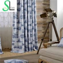 Yellow Drapery Popular Yellow Blue Curtains Buy Cheap Yellow Blue Curtains Lots