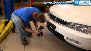 97 honda accord lights how to install replace front signal light honda accord 94 97