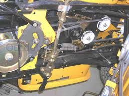 have 2005 cub cadet riding mower trying to replace steering fan
