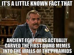 Egyptian Memes - cliff s little known facts imgflip