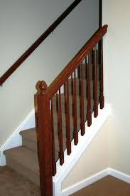 basement stairs railing basements ideas