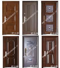 Safety Door Designs Residential Modern House Steel Door Skin Modern Steel Door Design