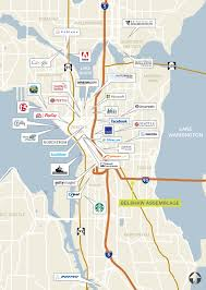 Seattle Traffic Flow Map by Belshaw Assemblage